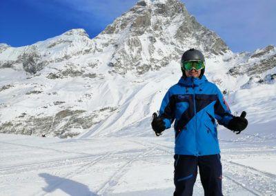 Profesores escuela de esquí Monitor Baqueira